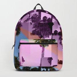 Palm Trees Footprint Backpack