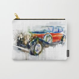Vintage Automobile Carry-All Pouch