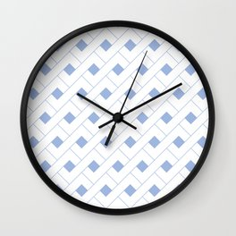 Geometric Serenity  Wall Clock