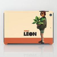 leon iPad Cases featuring Mathilda, Leon the Professional by Natalié Art&Living