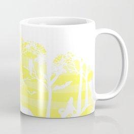 Yellow Frog Artwork Coffee Mug