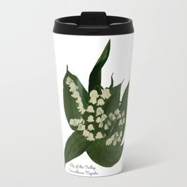 Lily of the Valley: Convalleria Majalis Travel Mug