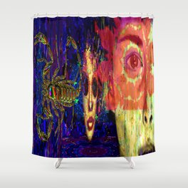 The Moment of Decision Shower Curtain