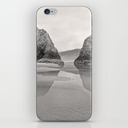 Tidal Pool Cannon Beach Oregon Coast Cave Forest Reflection Rocks Shoreline Nautical Northwest Pacif iPhone Skin