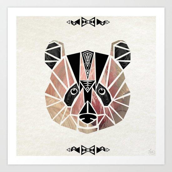 pandi panda! Art Print