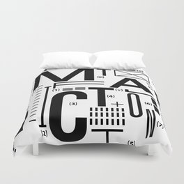 METAL FICTION Duvet Cover