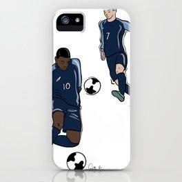 Fifa World Cup Champions Mbappé & Griezmann France iPhone Case