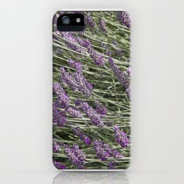 "LAVANDULA ""FRED BOUTIN"" iPhone Case"
