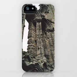 Whitby Abbey Gothic iPhone Case
