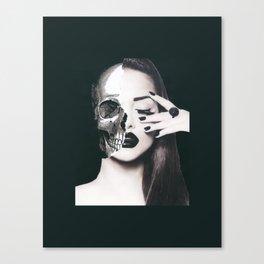 Skull Fusion Canvas Print