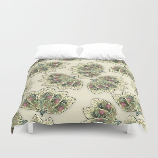 Colorful Leaves 4 Duvet Cover