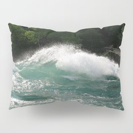 Landscape | Niagara River | Waves | Canada Pillow Sham