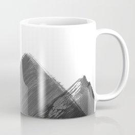 Minimalist Mountain Ink Art Print Coffee Mug