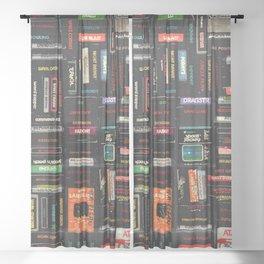 Games Sheer Curtain