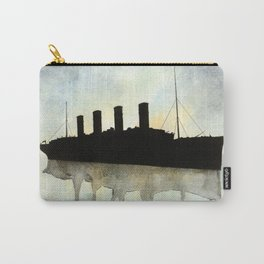Titanic watercolour Carry-All Pouch