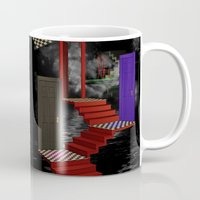nightmare Mugs featuring nightmare by Ancello