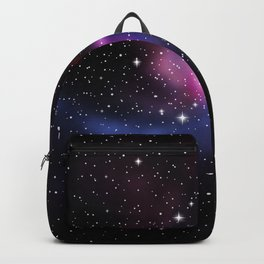 Galaxy space stars Backpack