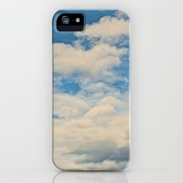 Clouds in the Sky iPhone Case