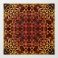 grid Canvas Prints featuring Grid by Lyle Hatch