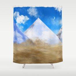 Desert Dweller Revalation Shower Curtain