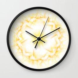 Solar Plexus Wall Clock