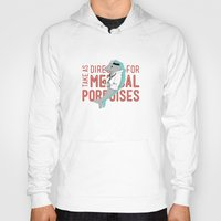 medical Hoodies featuring Medical Porpoises by theartisticfox