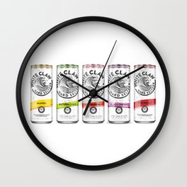 White Claw Full Wall Clock