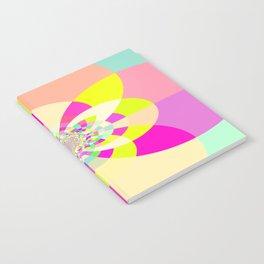 Bright & Pastel Kaleidoscope Notebook
