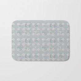 Underwear Grey Color Bath Mat