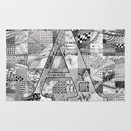 The Letter A Rug