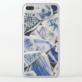 Japanese Sea Pottery - Collection I Clear iPhone Case