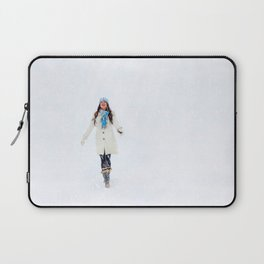 Enjoying Winter Laptop Sleeve