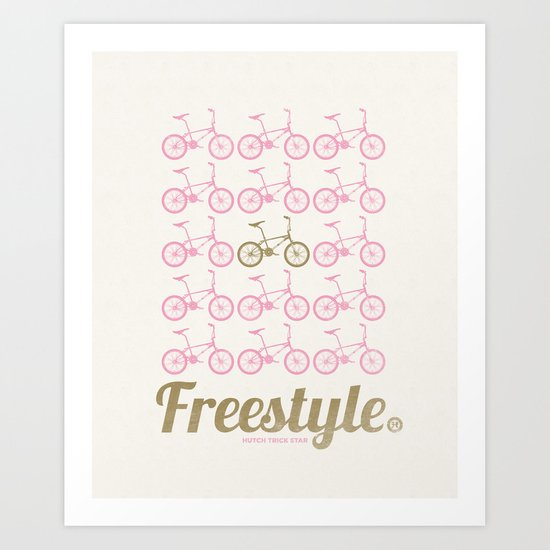 Freestyle - Hutch Trick Star Art Print