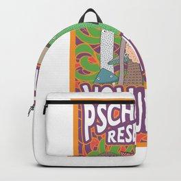 Psychedelic Research Volunteer psilocybin Backpack