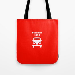 Summer 1969 - red Tote Bag