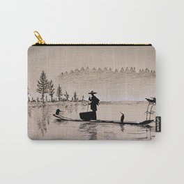 Sunrise Bird Fishing Carry-All Pouch