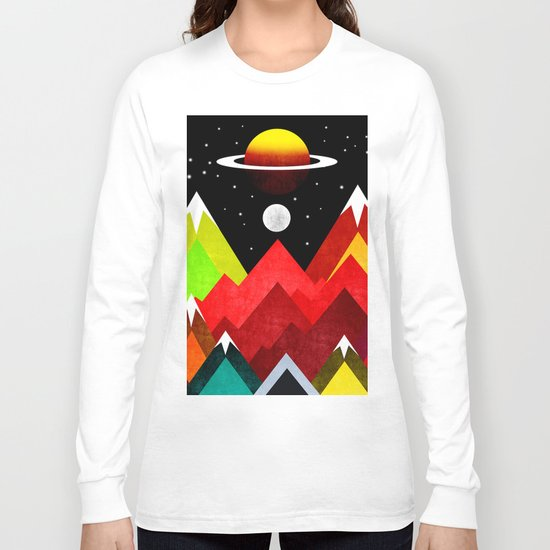 Nature Planet Long Sleeve T-shirt