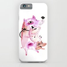 Three and Free Little Pigs iPhone 6s Slim Case