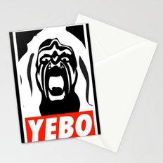YEBO WARRIOR Stationery Cards