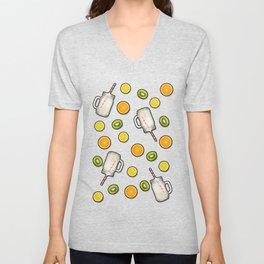Summer fruit #society6 Unisex V-Neck