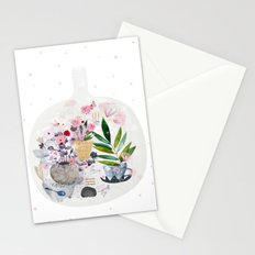 Garden in a bottle Stationery Cards