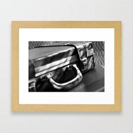 retro business case Framed Art Print