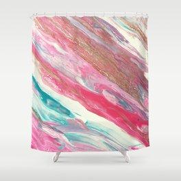 Candy Floss Shower Curtain