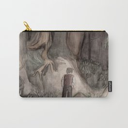 Dante in the Forest Carry-All Pouch