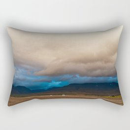 Something is coming Rectangular Pillow