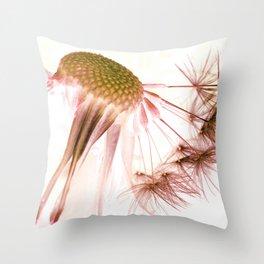 Dandelion Inversion Throw Pillow