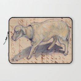 Vintage Celluloid Sheep Nodder Laptop Sleeve