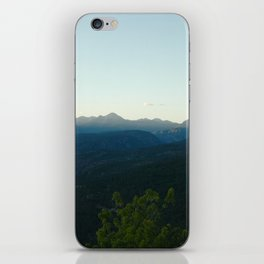 Mountain Haze - Durango, CO iPhone Skin