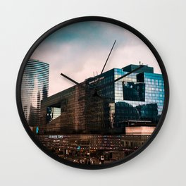 4Temps Cityscape Wall Clock