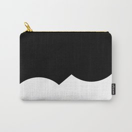 Black on White Puzzle Carry-All Pouch
